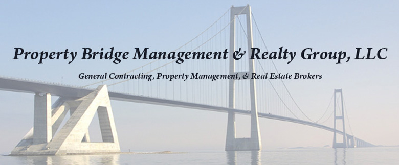 Property Bridge Management & Realty Group, LLC is a City  of Chicago licensed general contractor and Illinois licensed real estate brokerage which manages residential  construction projects and provides property management to small and midsize condominiums,  cooperatives, and apartment buildings in the Chicago area.